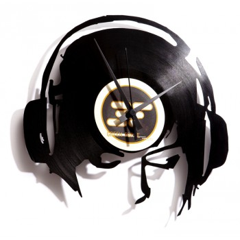 Discoclock DJ Ane@work