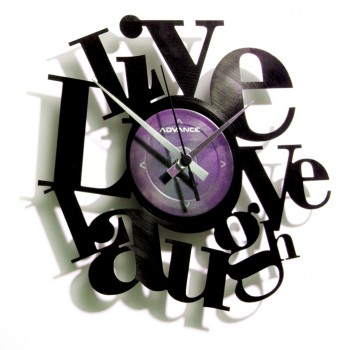 Discoclock Live Love Laugh