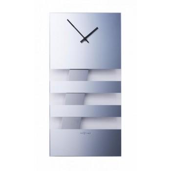Kyvadlové hodiny NeXtime Bold Stripes Light