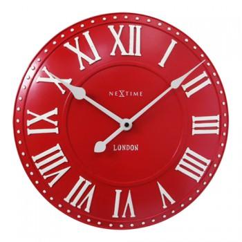 NeXtime London Roman Red