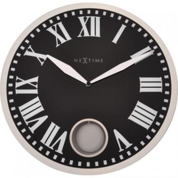 Kyvadlové hodiny NeXtime Romana Black