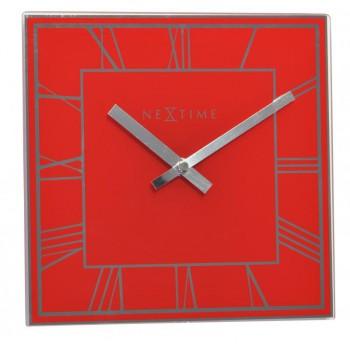 NeXtime Square Roman Red
