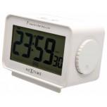 Stolní hodiny NeXtime Easy Alarm White Radio Controlled